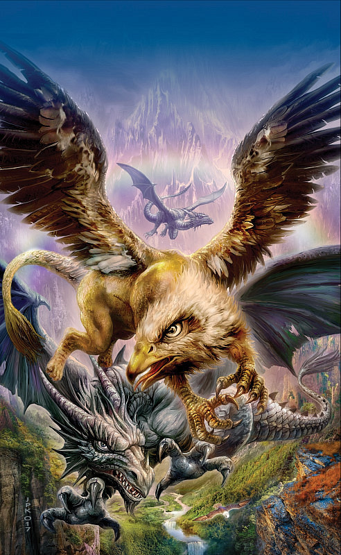 JPK - Clash of gryph and dragons